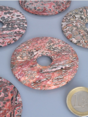 Leopardenstein, Donut, ø 60 mm, VE 1 Stück