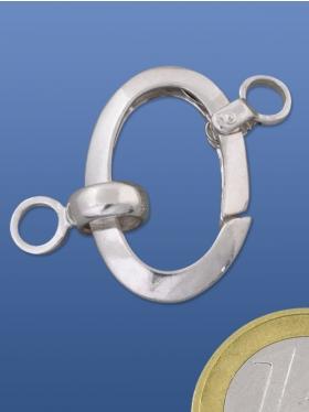 Federring oval spezial, 925 Silber