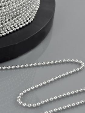 Kugelkette, 925 Silber, Meterware