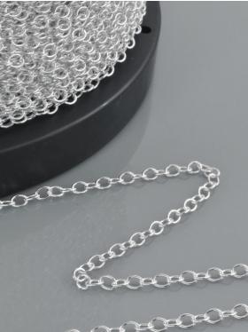Ankerkette, 925 Silber, Meterware