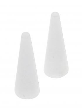 Nylon Ersatzbacken für runde Zange, 1 Paar