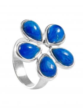 Apatit, Ring, Größe 54, Unikat