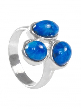 Apatit, Ring, Größe 60, Unikat