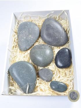 "Massagestein ""Hot Stone"", Set, Box"