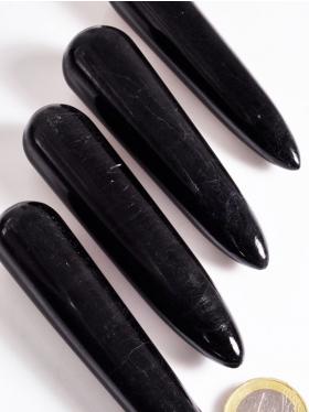 Turmalin schwarz, Massage-Griffel