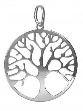 Baum des Lebens, large, Anhänger mit Öse, 925 Silber