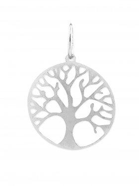 Baum des Lebens, Anhänger small mit Öse, 925 Silber