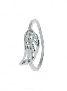 Engelsflügel, Ring Größe 60, 925 Silber