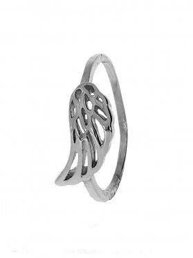 Engelsflügel, Ring Größe 60, 925 rhodiniert