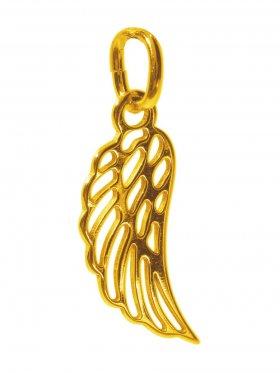 Engelsflügel, Anhänger small, 925 vergoldet