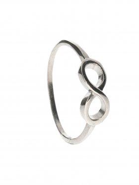 Unendlichkeit, Ring Größe 61, 925 Silber