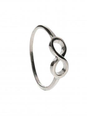 Unendlichkeit, Ring Größe 61, 925 rhodiniert