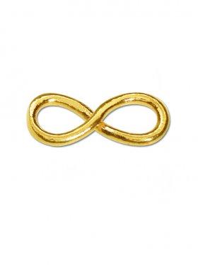 Unendlichkeit, Element small, 925 vergoldet
