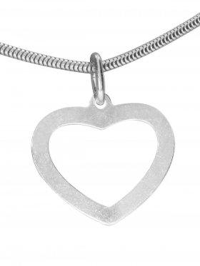 Herz, Anhänger small, 925 Silber