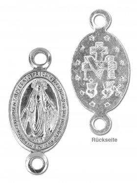 Madonna, Element small mit 2 Ösen, 925 Silber