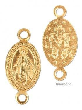 Madonna, Element small, 925 vergoldet
