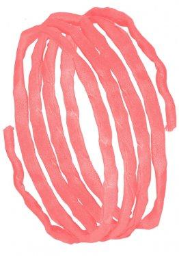 Seidenbänder, Rosatöne, L 1 m, VE 10 St. - lachs (82)