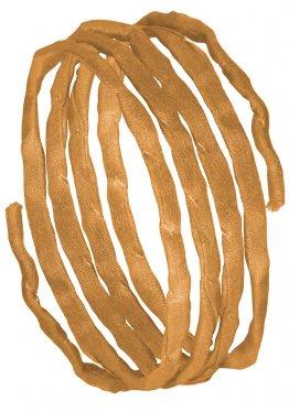 Seidenbänder, Brauntöne, L 1 m, VE 10 St. - beige (65)