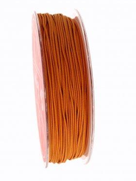 Elastikband auf Spule ø 1 mm, 25 m, hellbraun