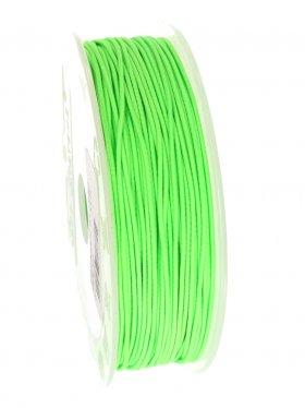 Elastikband auf Spule ø 1 mm, 25 m, hellgrün