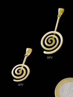 Donuthalter Spirale rund poliert ø 14, VE 2 Stück