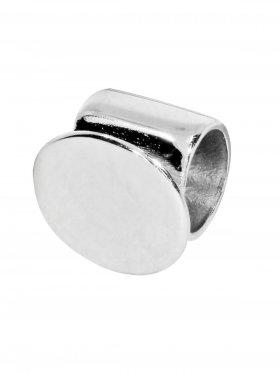 Rohr mit Klebefläche, 925 Silber, VE 5 St