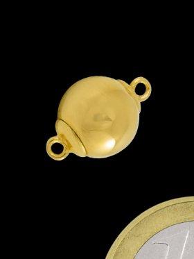 Magnet - Steckverschluss, 925 vergoldet