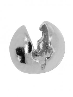 Klapp-Kugel ohne Öse, verschiedene Größen, VE 20 St., 925 Silber rhod. - ø 5 mm