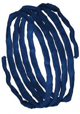 Seidenbänder, Blautöne, L 1 m, VE 10 St. - marineblau (41)