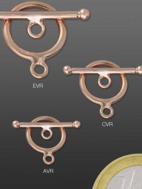 Ring-Stab Verschluss, 925 Silber