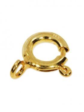 Federring, vergoldet, ø 7 mm (1 St.)