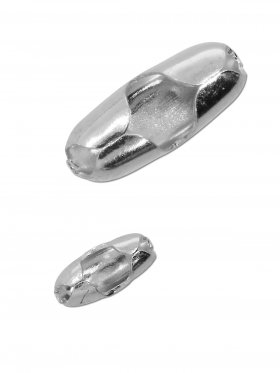 Verschluss zum Einhängen von Silber-Kugelketten ø 1 - 1,2 mm, 925 Silber