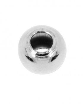 Kugel (Quetschkugel) ø 2,0 mm (50 St.), 925 Silber