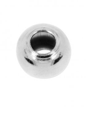 Kugel (Quetschkugel) ø 2,2 mm (40 St.), 925 Silber