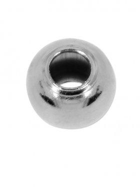 Kugel (Quetschkugel), 925 Silber rhodiniert, ø 2,2 - VE 400 St.