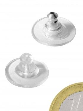 Butterfly PVC oder PVC/Silber, VE 10 Paar