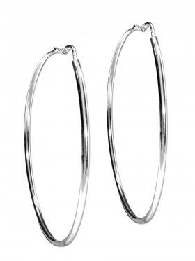 Creolen Campanella ø 64 mm in 925 Silber
