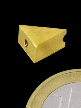 Dreieck gebürstet, 925 Silber