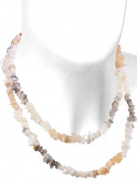 Mondstein multicolor, Splitterkette, Länge ca. 90 cm, 1 Stück