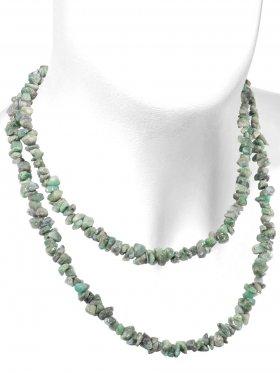 Smaragd B Qualität, Splitterkette, Länge ca. 90 cm, 1 Stück