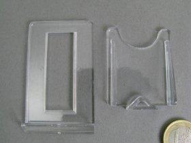 Schiebeständer aus Kunststoff, VE 10 Stück