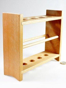 Holzständer für 4 Wellness-Wasserstäbe