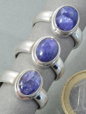 Tansanit, Ring, Größe - 58