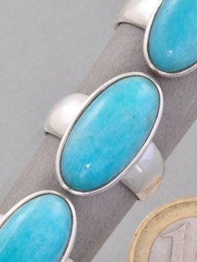 Amazonit, Ring, verschiedene Größen - 57