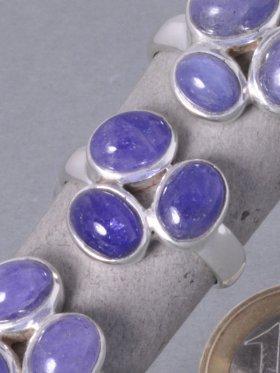 Tansanit, Ring, verschiedene Größen - 58