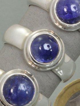 Tansanit, Ring, verschiedene Größen - 55