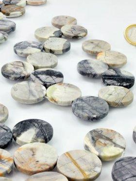 Picasso-Marmor, Münzform ø 25, Strang