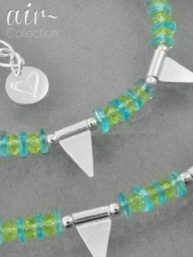 AIR-Collection, Kette No. 8, Silber rhodiniert