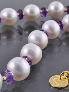 PEARL-Collection, Kette Nr. 6, 925er Silber vergoldet