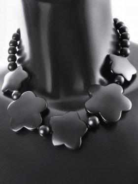 Natural Mind-Collection, Kette No. 5, Silber rhodiniert